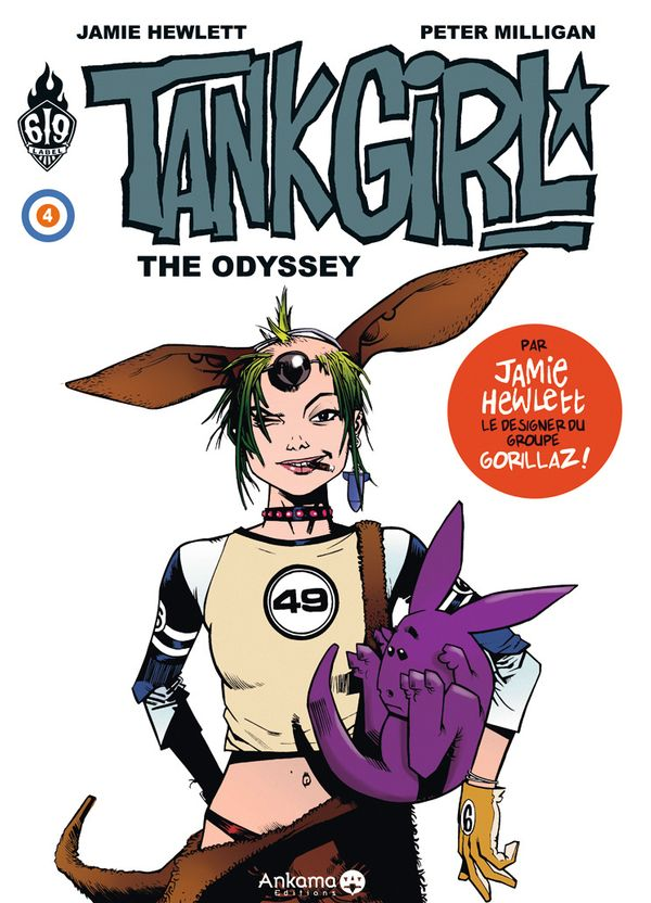Tank Girl 04  The odyssey