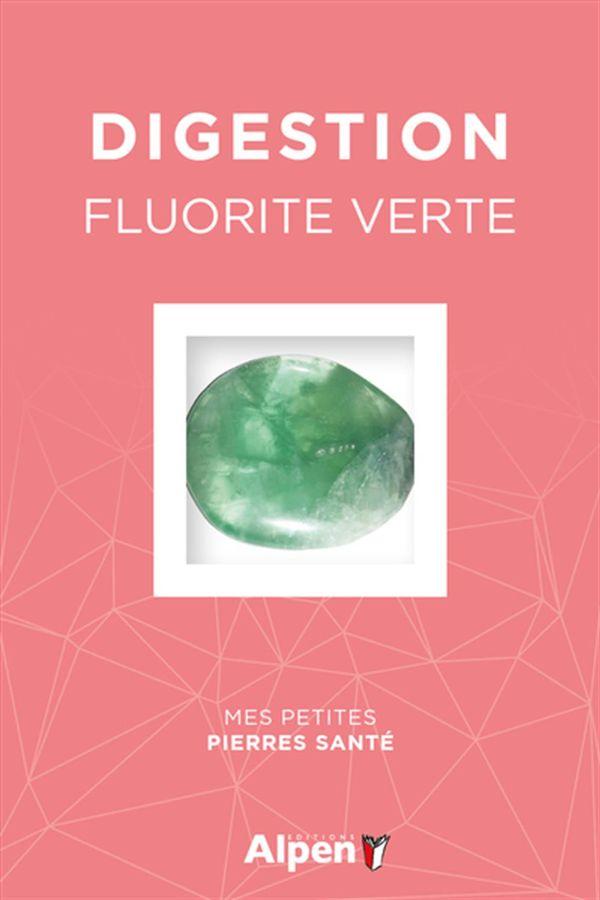 Coffret Litho Digestion - Fluorite verte
