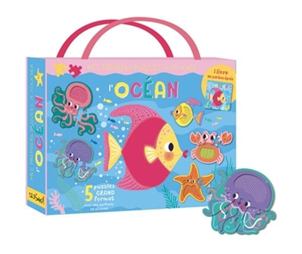 L'océan - Mes premiers puzzles à toucher