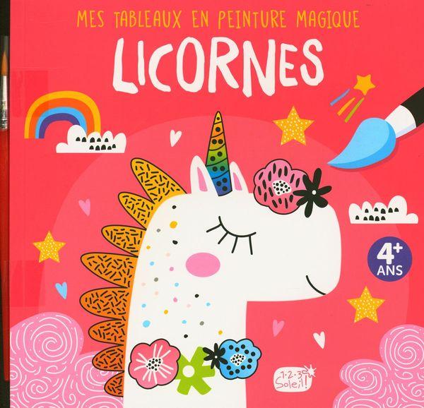 Licornes - Mes tableaux en peinture magique