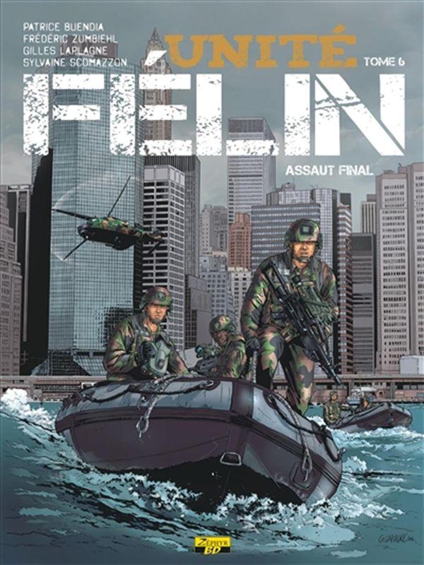 Unité Félin 06 : Assaut final