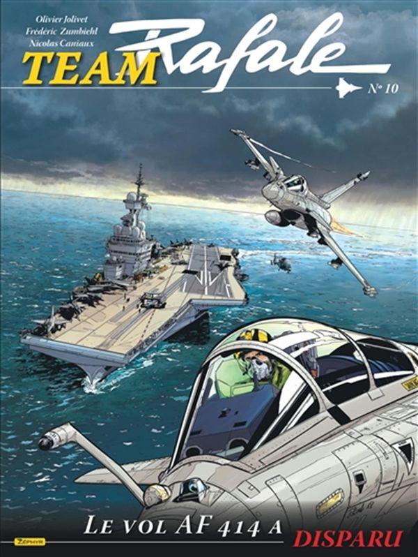 Team Rafale 10 : Le vol AF 414 A