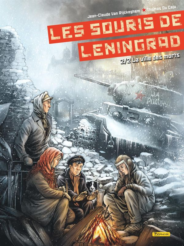 Souris de Leningrad 02  La ville des morts