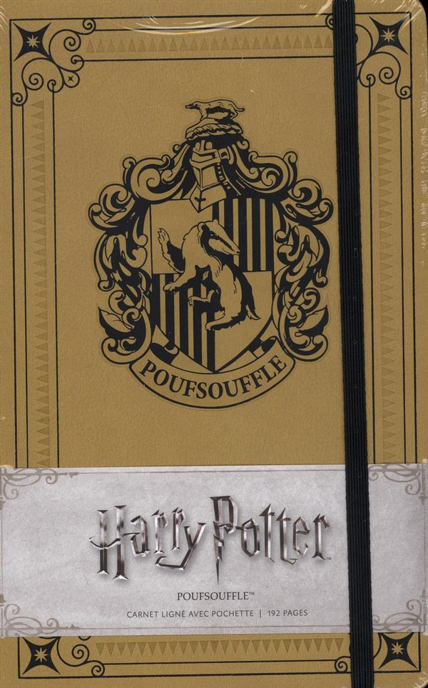 Harry Potter : Carnet Poufsouffle