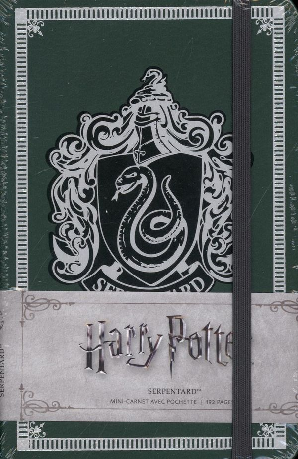 Harry Potter - Mini carnet avec pochette Serpentard 04