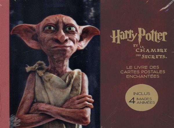 Harry Potter et la chambre des secrets - Le livre des cartes postales enchantées