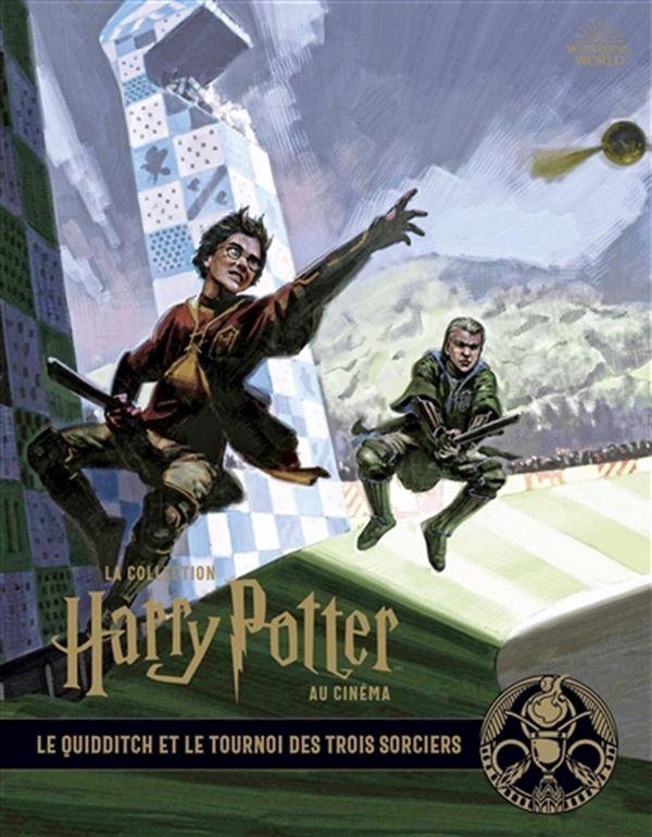 Collection Harry Potter au cinéma 07  Le quidditch et le tournoi des trois sorciers