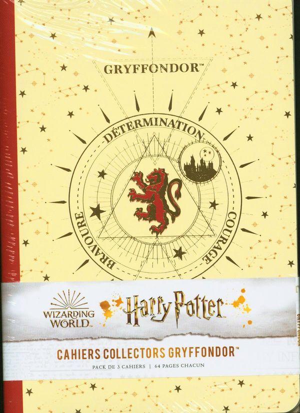 Harry Potter Constellations - Pack de 3 cahiers Gryffondor