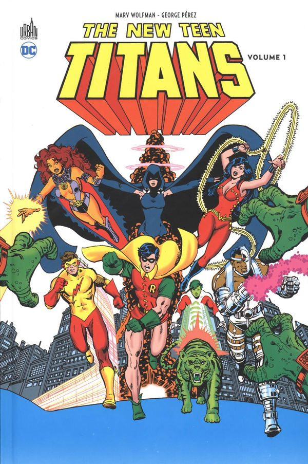 The New Teen Titans 01