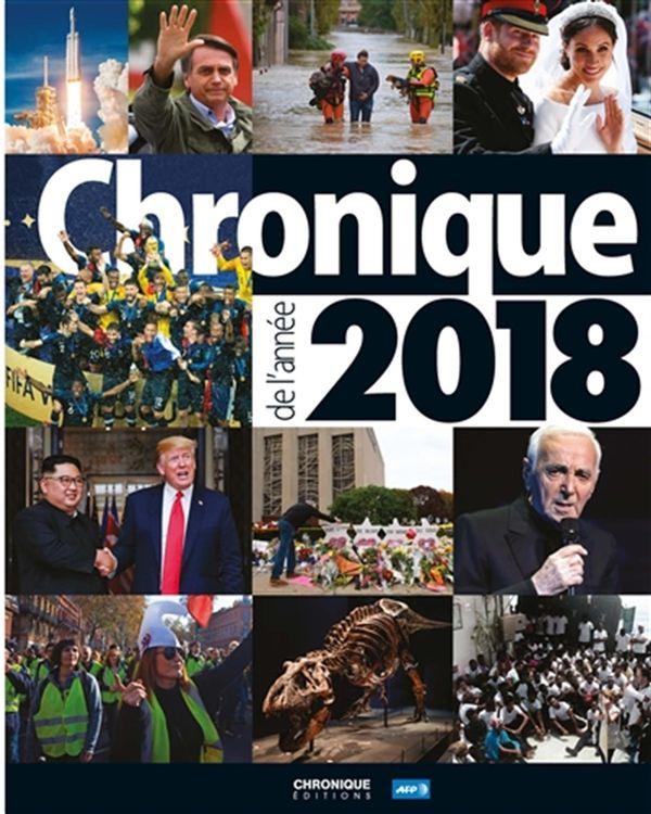 Chronique de l'année 2018