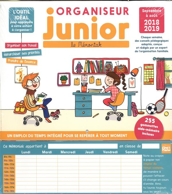 Organiseur Junior 2018-2019