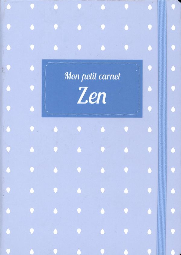 Mon petit carnet - Zen