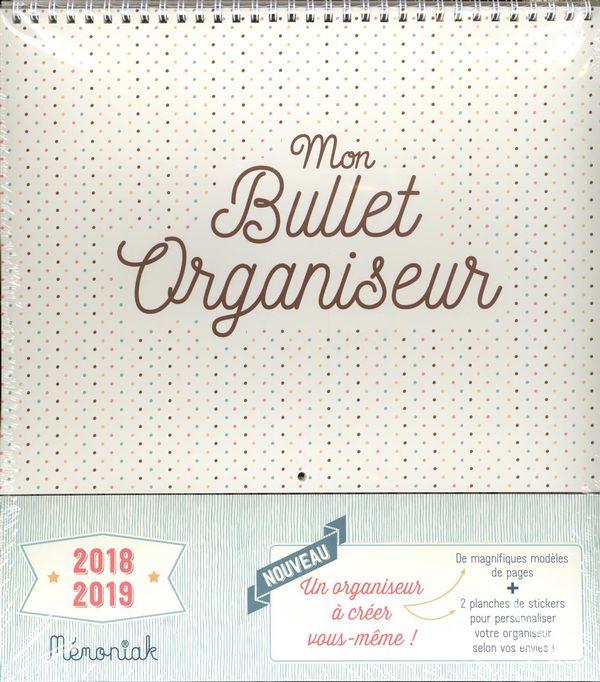 Mon Bullet organiseur 2018-2019