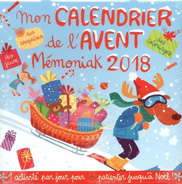 Mon calendrier de l'Avent Mémoniak 2018