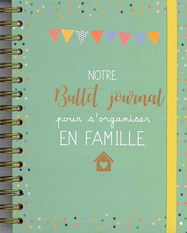 Notre Bullet journal pour s'organiser en famille Mémoniak 2019-2020