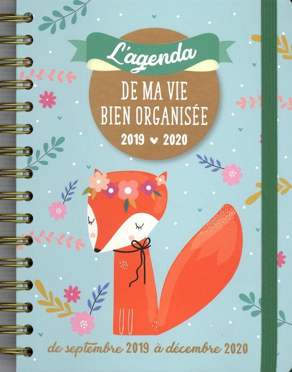 L'agenda de ma vie bien organisée 2019-2020