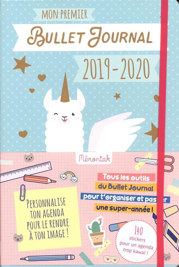 Mon premier Bullet journal Mémoniak 2019-2020