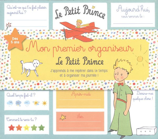 Mon premier organiseur Le Petit Prince