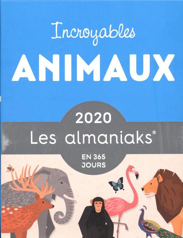 Almaniak Incroyables animaux 2020