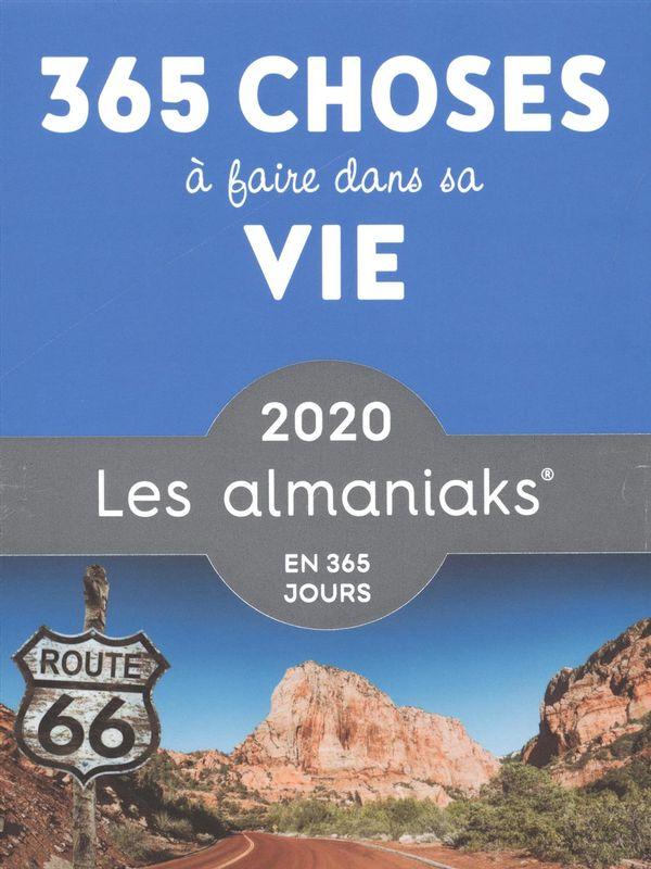 Almaniak 365 choses à faire dans sa vie 2020