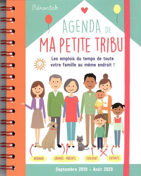 Agenda de ma petite tribu Mémoniak 2019-2020