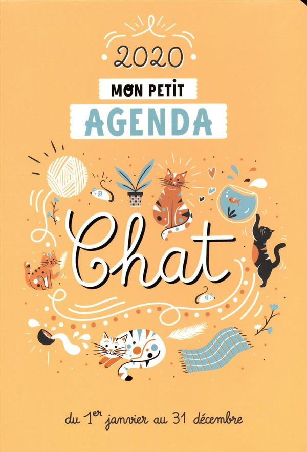 Mon petit agenda Chats 2020