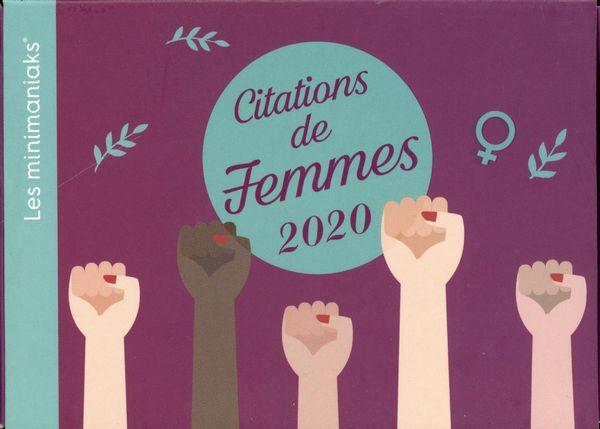 Minimaniak Citations de femmes 2020