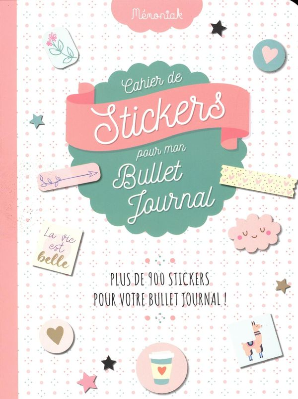 Cahier de stickers pour mon Bullet journal 2020