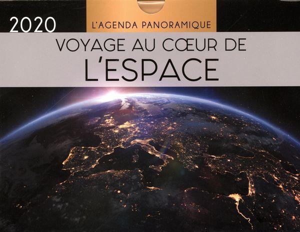 Agenda panoramique Voyage au coeur de l'espace 2020