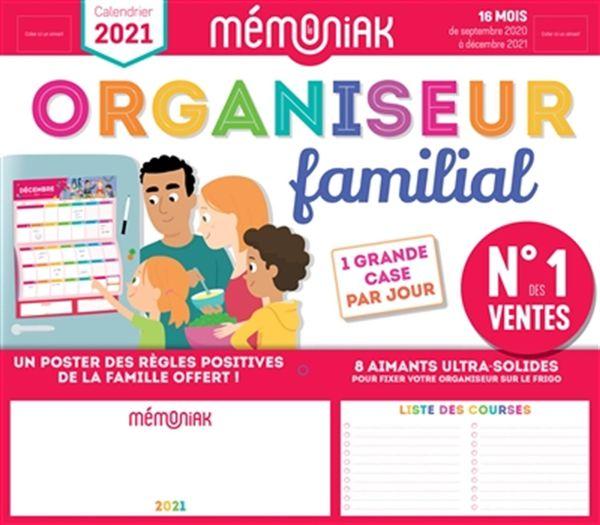 Organiseur famililial Mémoniak 2020-2021