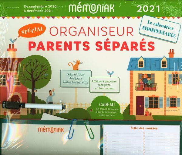 Organiseur Parents séparés Mémoniak 2021