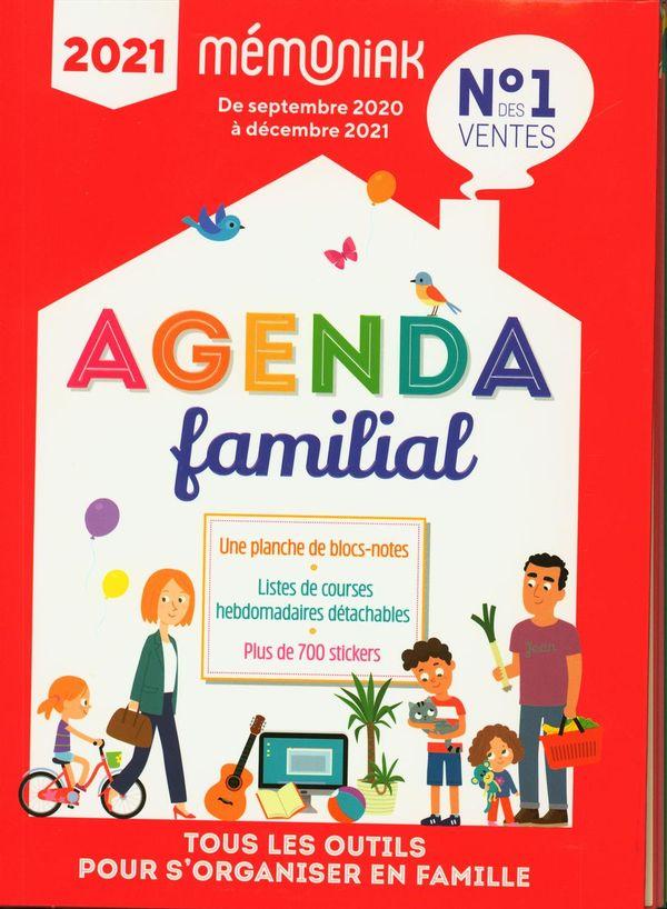 Agenda familial Mémoniak 2020-2021