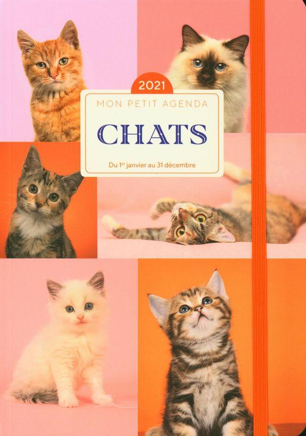 Mon petit agenda Chats 2021