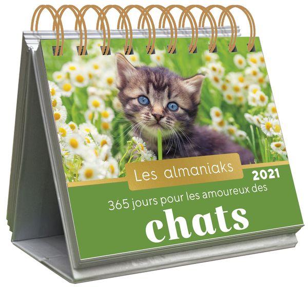 Les almaniaks 365 jours pour les amoureux des chats 2021