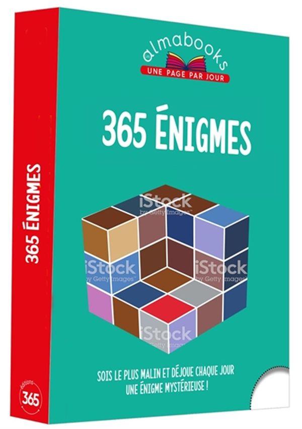 Almabook 365 énigmes à résoudre