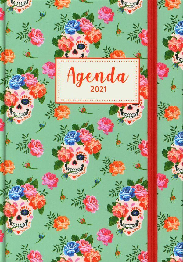 L'agenda de mon année 2021 - Calavera mexicaine