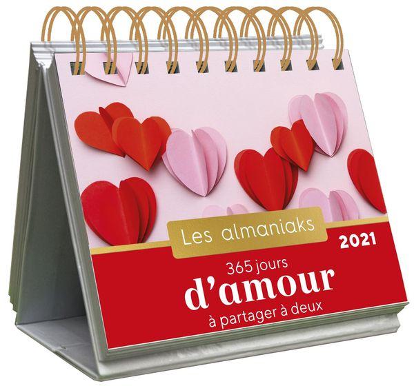 Almaniak 365 jours d'amour à partager à deux 2021