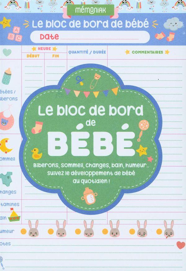 Le bloc de bord de bébé Mémoniak 2021