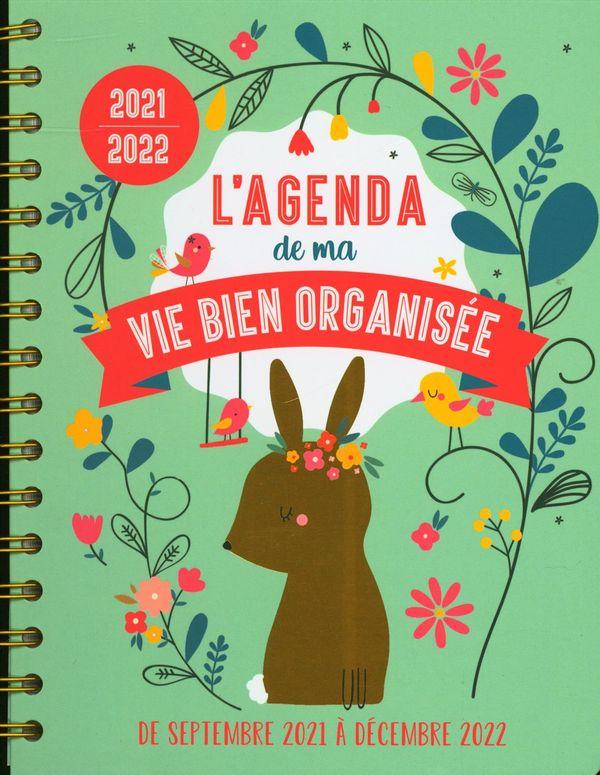 L'agenda de ma vie bien organisée 2021-2022
