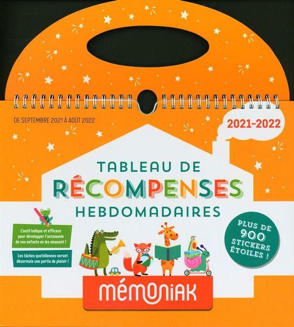 Tableau de récompenses hebdomadaires Mémoniak 2021-2022