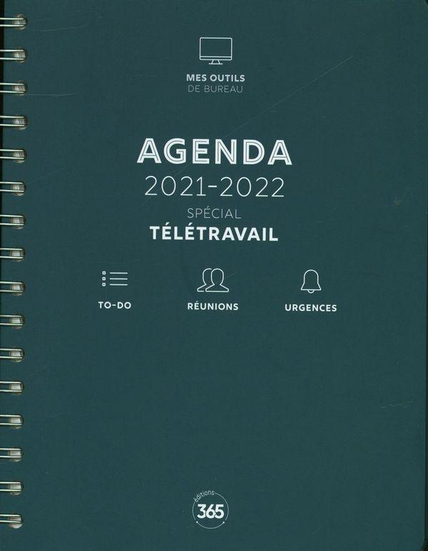 Agenda 2021-2022 - Spécial télétravail