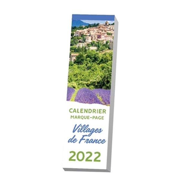 Calendrier marque-page : Villages de France 2022