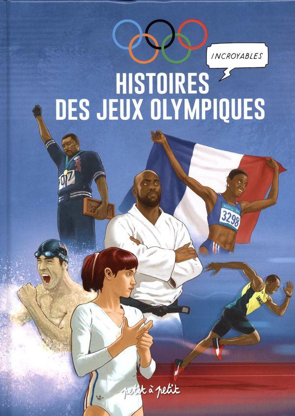 Histoires incroyables des jeux olympiques en BD