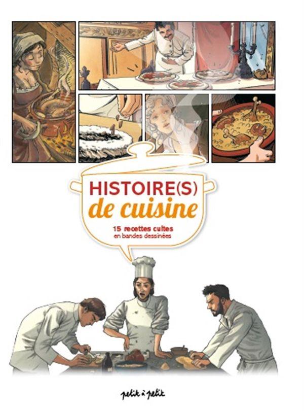 Histoire(s) de cuisine, 15 recettes cultes en bandes dessinées