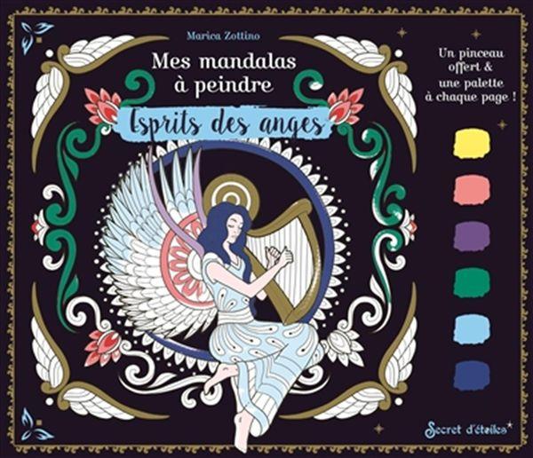 Mes mandalas à peindre - Esprits des anges