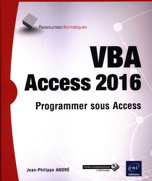 VBA Access 2016 : Programmer sous Access