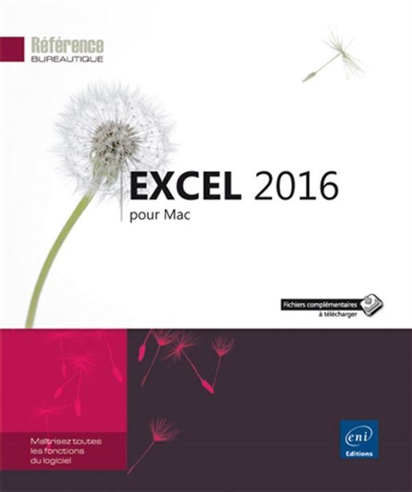 Excel 2016 pour Mac