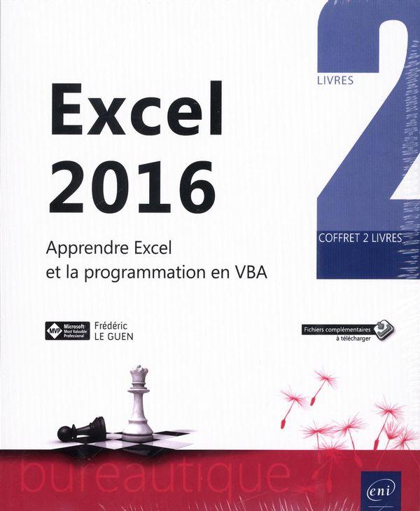 Excel 2016 - Apprendre Excel et la programmation en VBA