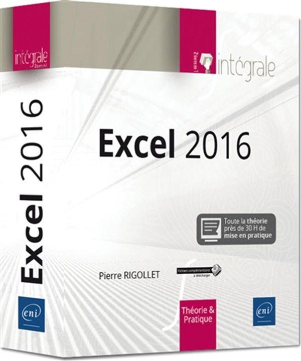 Excel 2016 : Intégrale