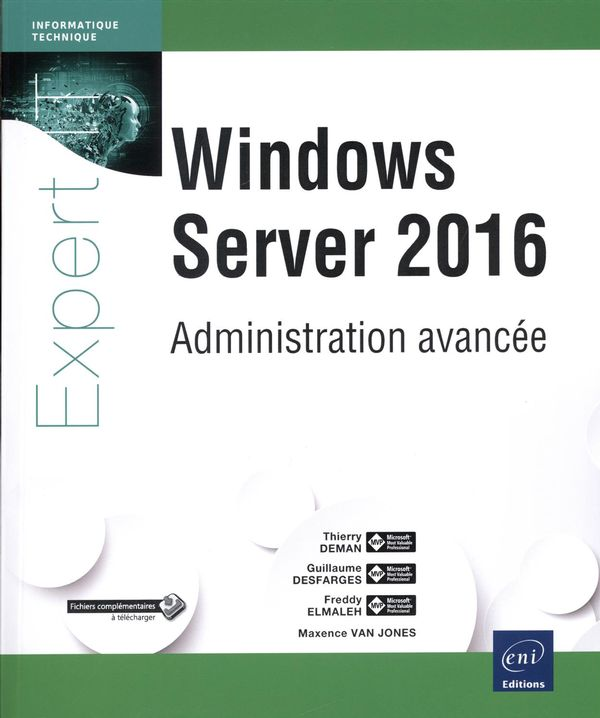 Windows Server 2016 : Administration avancée